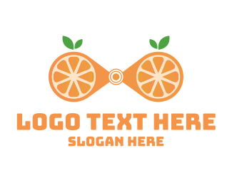 Juice Bar - Zoom Orange logo design