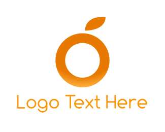Letter O - Orange Letter O logo design