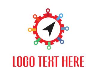 Click - Click Gear logo design