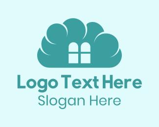 Preschool - Cloud Home logo design