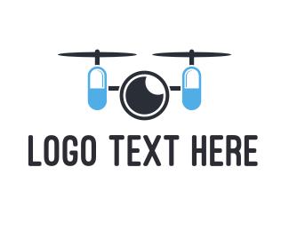 Spy - Capsule Drone logo design
