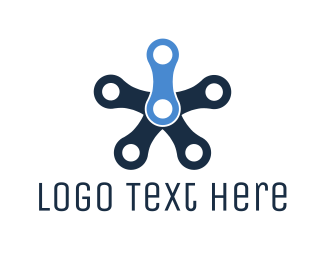 Machine - Industrial Star logo design