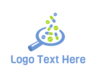 Search - Drug Finder logo design