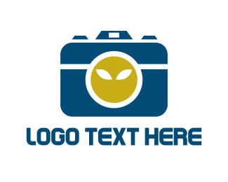Alien - Alien Camera logo design
