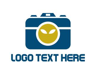 Alien - Alien Camera logo design