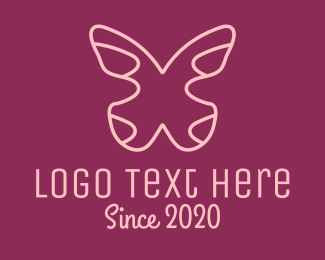 Silver - Silver Butterfly logo design