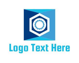 Bank - Blue Safe logo design