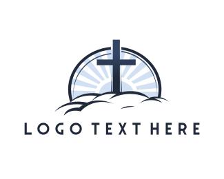 Christ - Chistian Heaven logo design