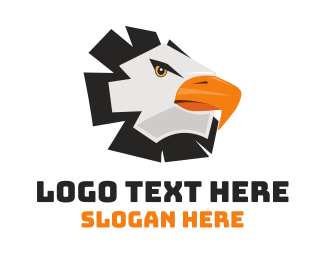 Head - Wild Eagle Head logo design