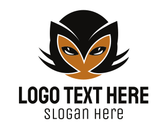 Mask - Cat Face logo design