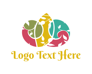 Home And Garden - Colorful Garden logo design