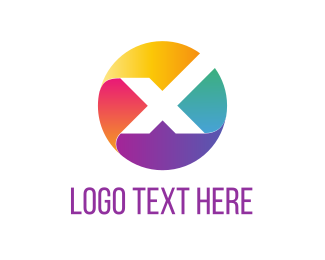 Icon - X Circle logo design