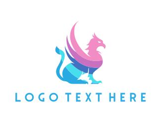 Monster - Pastel Griffin logo design