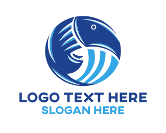 Toucan - Fish & Toucan logo design