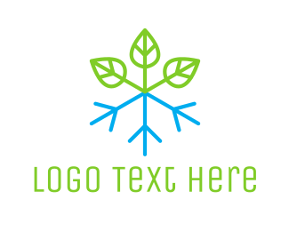 Stem - Snow Plant logo design