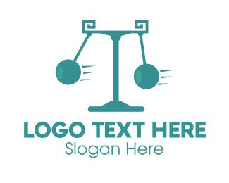Scale - Pendulum Law logo design