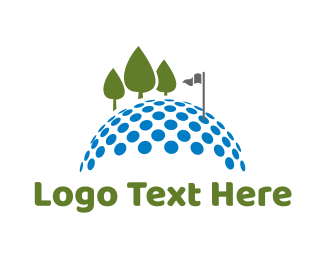 Golf - Golf Course logo design
