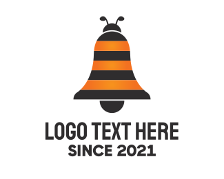 Bell - Bee Bell logo design