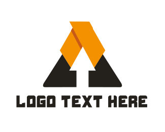 Change - Arrow Triangle logo design