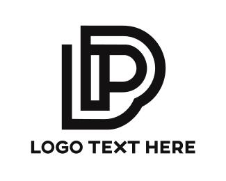 Program - Black P Stroke  logo design