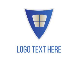 Protect - Blue Shield logo design