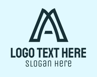 General - Simple Letter A logo design