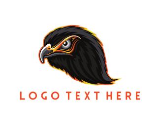 """Black Eagle Head"" by WestDesign"