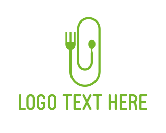 Fork - Office Kitchen logo design