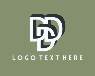 Trio - Group Letter D logo design