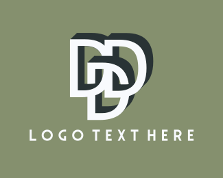 Trio - Group Letter D logo design