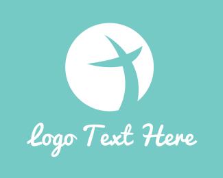 Sphere - Peace Cross logo design