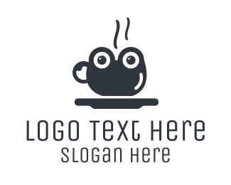 Coffee Cup - Frog Cup logo design