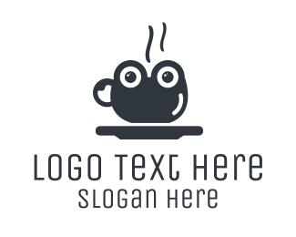 Espresso - Frog Cup logo design
