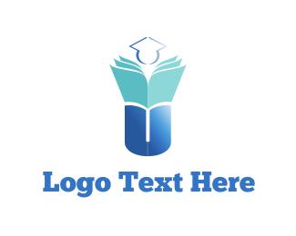 Academy - University Graduation logo design