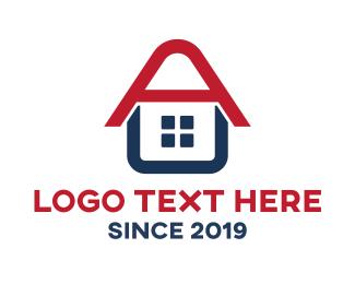 Services - Letter A House logo design