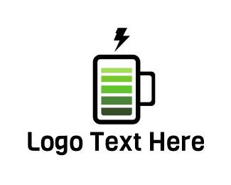 Charger - Energy Drink logo design
