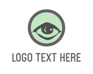 Ophthalmologist - Green Eye logo design
