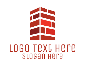 Wall - Brick Chimney logo design