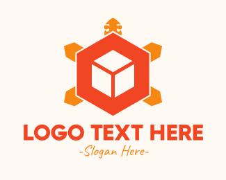 Turtle - Turtle Cube logo design