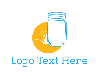 Restaurant - Mason Jar logo design