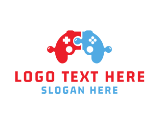 Joystick - Puzzle Game logo design