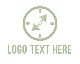 Hour - Click Clock logo design