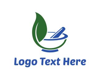 Drug - Herbs & Pharmacy logo design