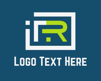 Television - Tech R logo design