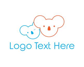 Melbourne - Koala Bear logo design