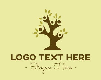 Family - Tree Family  logo design