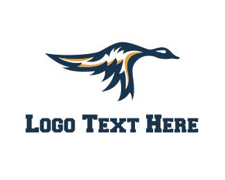 Esports - Flying Duck logo design