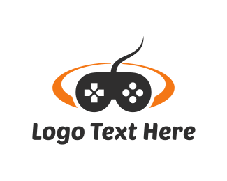 Joystick - Game Controller logo design