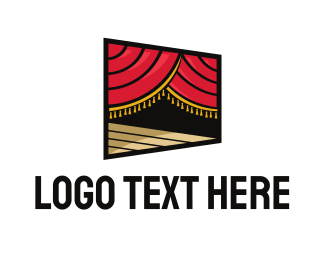 Review - Stage logo design