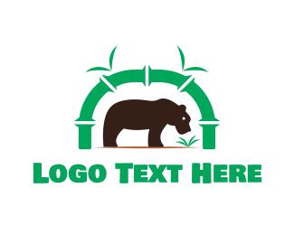 Wilderness - Bear Park logo design